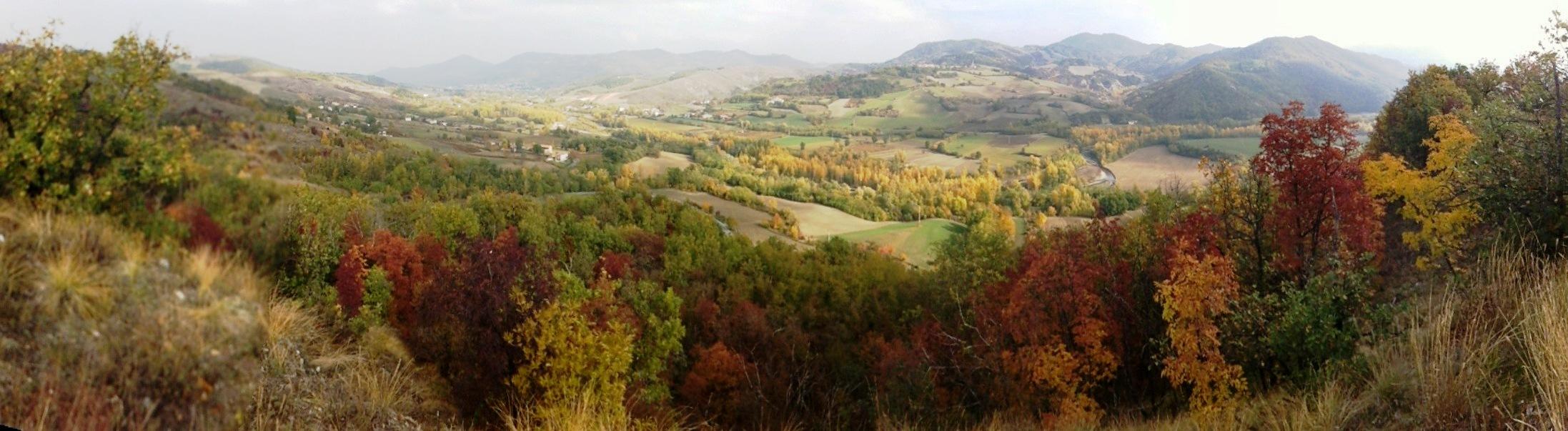 Panorama Oltrepo Pavese